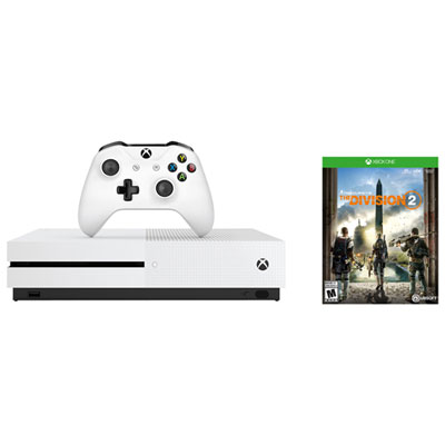 Xbox One S 1TB Tom Clancys The Division 2 Bundle