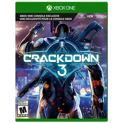 Crackdown 3 Xbox One - Previously Played