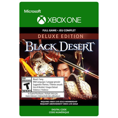 Black Desert Deluxe Edition Xbox One - Digital Download