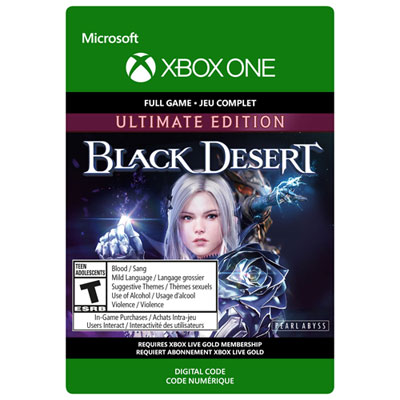 Black Desert Ultimate Edition Xbox One - Digital Download