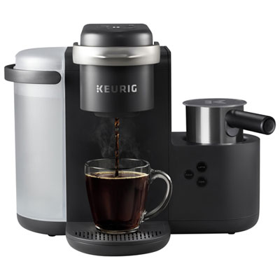 Keurig K-Café Single Serve Coffee Maker - Dark Charcoal