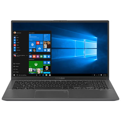 ASUS VivoBook 15.6 inch Laptop with AMD Quad Core R5, 12GB RAM and 512GB SSD