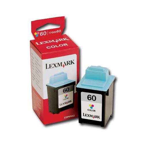 Encre couleur 60 de Lexmark (17G0060)