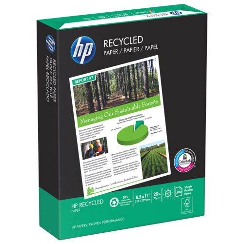 HP 500-Sheet Recycled Paper (HPE1120)