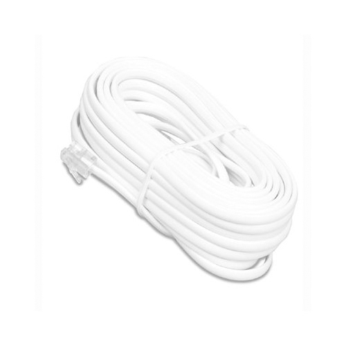 Recoton (15 ft.) Microthin Phone Cord (T64THINW)