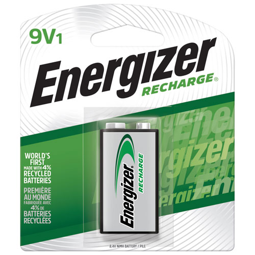 Energizer Nh22nbp Nimh Quot 9v Quot 1 Pack Rechargeable Battery