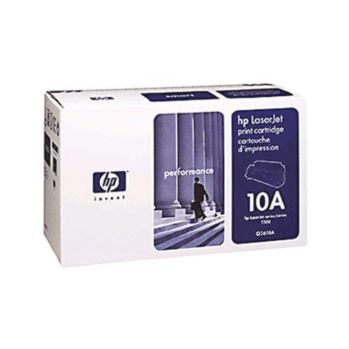Cartouche de poudre d'encre noire LaserJet de HP (Q2610A)