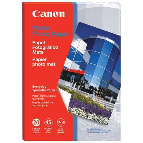 "Canon 20-Sheet 13"" x 19"" Premium Matte Photo Paper Pro"