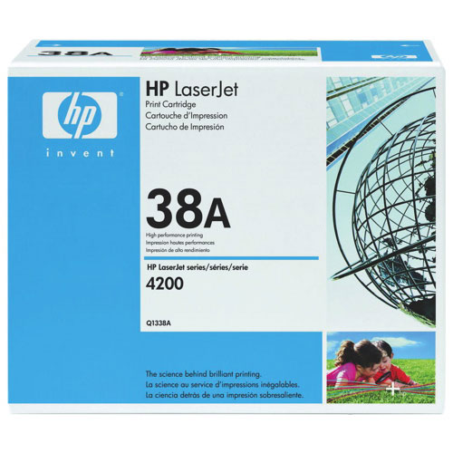 HP LaserJet 38A Black Toner (Q1338A)