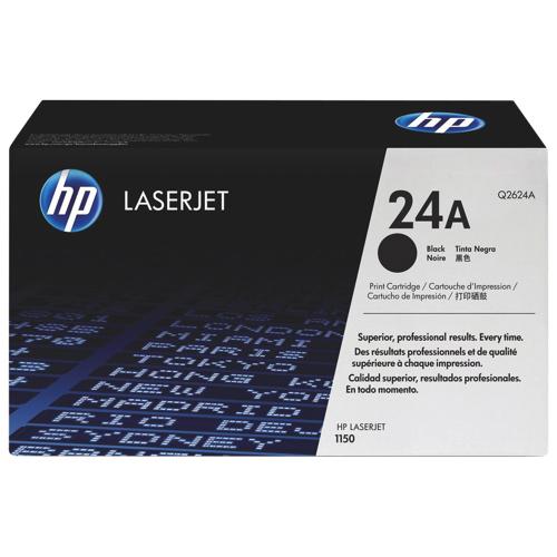 HP 24A Black Toner (Q2624A)