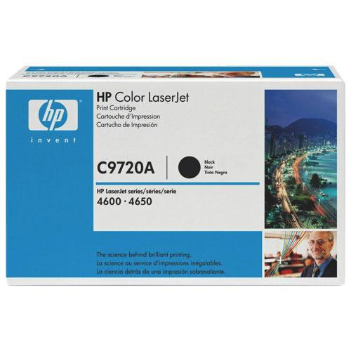 HP LaserJet Black Toner (C9720A)