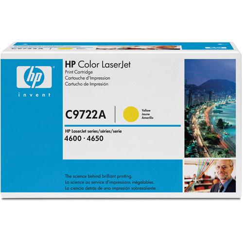 HP LaserJet Yellow Toner (C9722A)