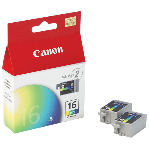 Canon BCI-16 Colour Ink - 2 Pack