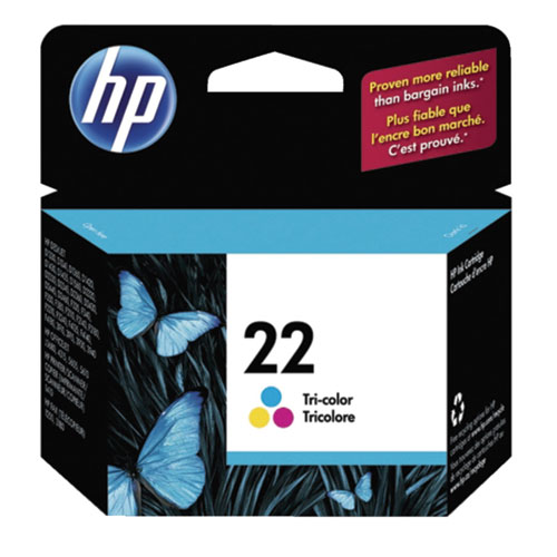 HP 22 Tri-Colour Ink (C9352AC140)