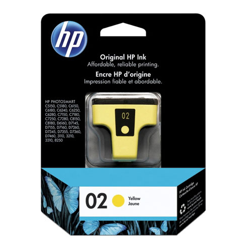 HP 02 Yellow Ink (C8773WC)