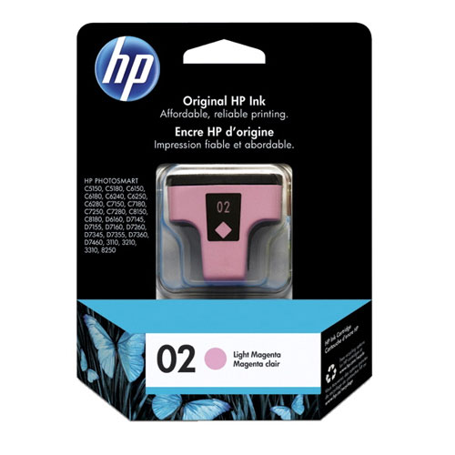 HP 02 Light Magenta Ink (C8775WC)