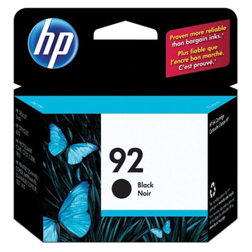 HP 92 Black Ink (C9362WC140)