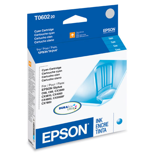 Epson DURABrite Ultra Cyan Ink (T060320)