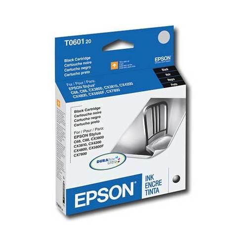 Cartouche d'encre noire DURABrite d'Epson (T060120S)