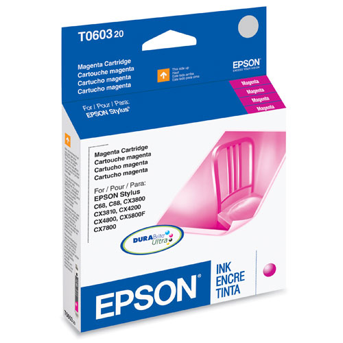 Epson DURABrite Ultra Magenta Ink (T060320)
