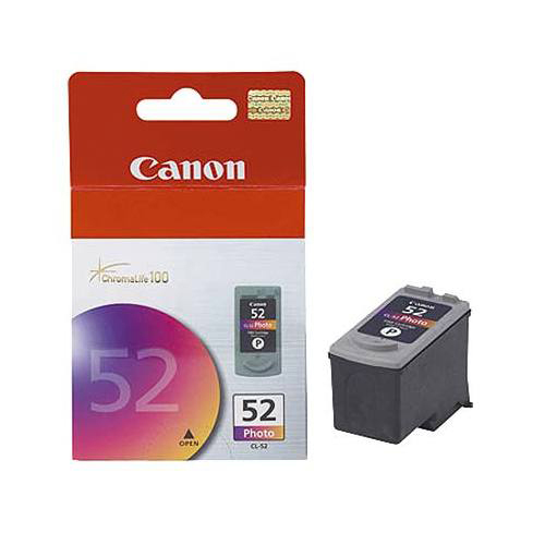 Canon CL-52 Tri-Colour Ink (0619B002AA)