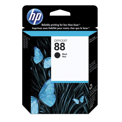 HP 88 Black Ink (C9385AN#140)