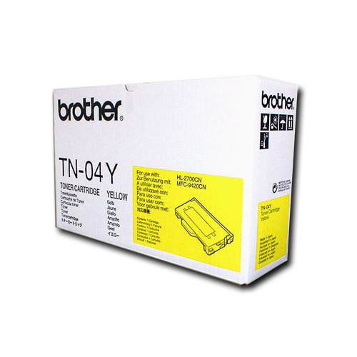 Brother Yellow Toner (TN04Y)