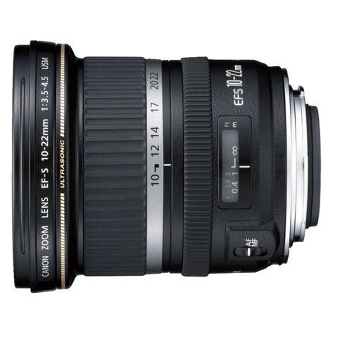 Objectif EF-S 10-22 mm f/3,5-4,5 USM de Canon