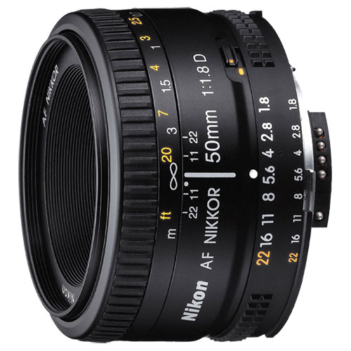nikon af 50mm f1.8 prime lens : dslr camera lenses - best buy canada