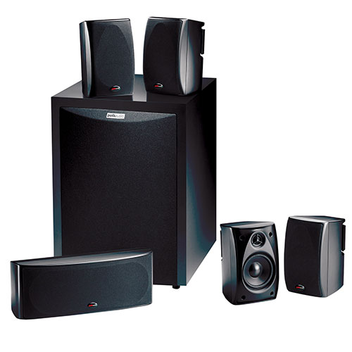syst me de haut parleurs 5 1 rm6750 de polk audio pour. Black Bedroom Furniture Sets. Home Design Ideas