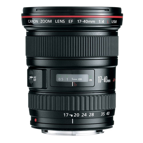 Objectif EF 17-40 mm f/4L USM de Canon
