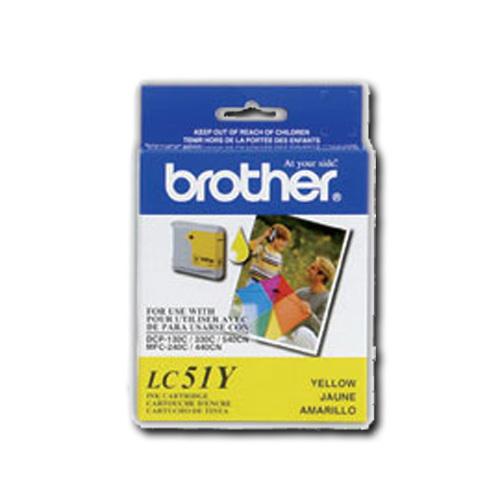 Cartouche d'encre jaune de Brother (LC-51Y)