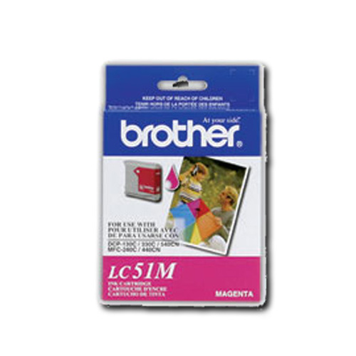 Brother Magenta Ink (LC-51M)