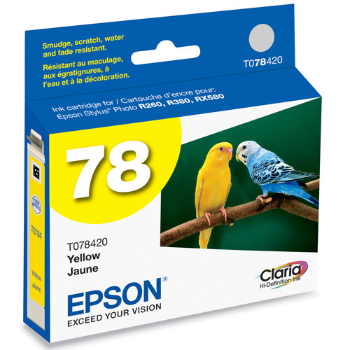 Epson 78 Yellow Ink (TO78420)