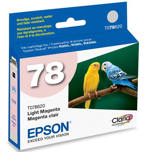 Epson 78 Light Magenta Ink (TO78620)