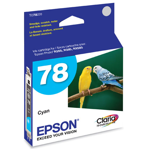 Epson 78 Cyan Ink (T078220)
