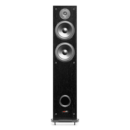 Polk Audio R50 150-Watt Tower Speaker - Black - Single