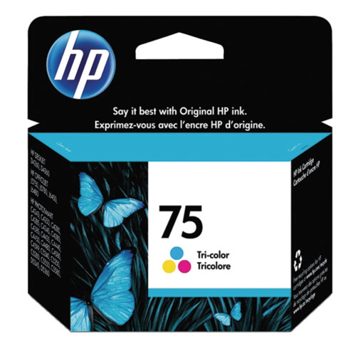 HP 75 Tri-Colour Ink (CB337WC140)