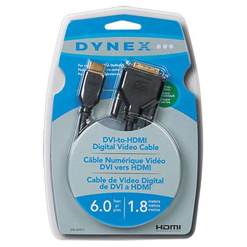 Câble HDMI de 1,8 m (6 pi) de Dynex (DX-AV011)