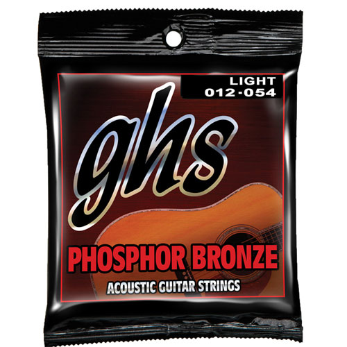 GHS Phospor Bronze Acoustic Guitar Strings (S325C)