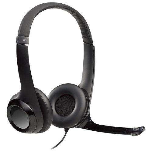 Logitech Stereo USB Headset (H390)
