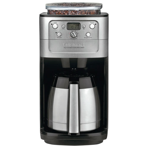 Cuisinart 12-Cup Burr Grind & Brew Coffee Maker (DGB-900BCC) : Coffee Makers - Best Buy Canada