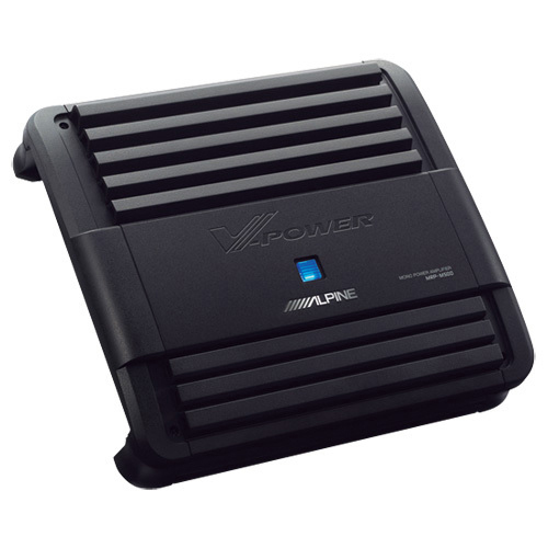 Amplificateur mono de 500 W MRP d'Alpine pour l'auto (MRP-M500)