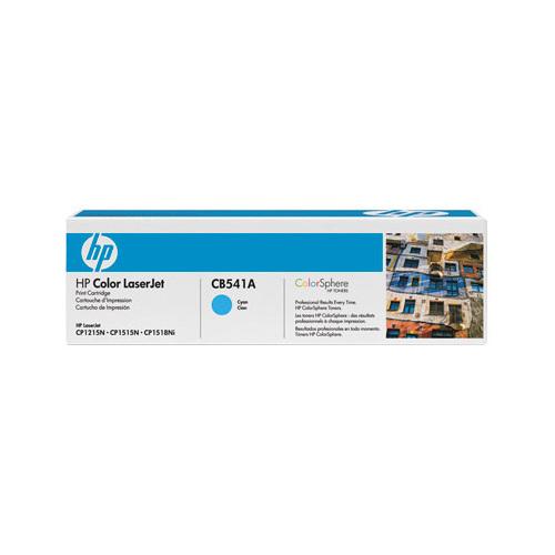 HP LaserJet 125A Cyan Toner (CB541A)