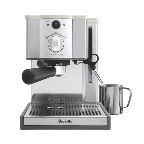 breville caf roma pump espresso machine espresso. Black Bedroom Furniture Sets. Home Design Ideas