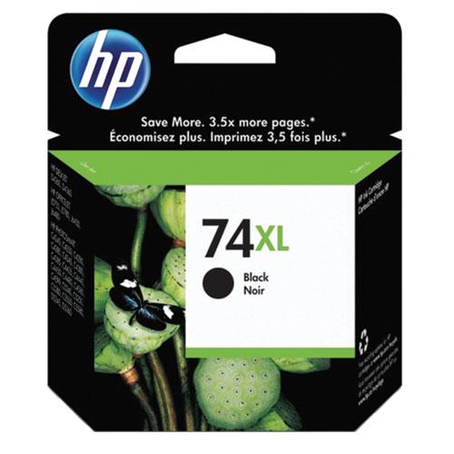 Cartouche d'encre noire 74XL de HP (CB336WC140)