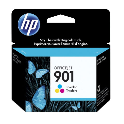 HP 901 Tri-Colour Ink (CC656AC140)