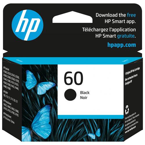 Cartouche d'encre noire 60 de HP (CC640WN#140)
