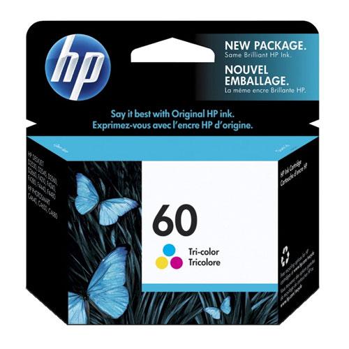 HP 60 Tri-Colour Ink (CC643WN#140)