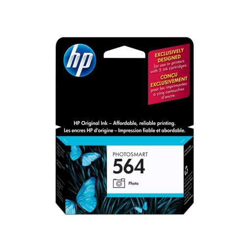 HP 564 Black Photo Ink (CB317WN#140)